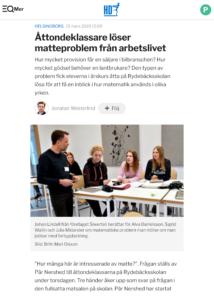 Åttondeklassare löser matteproblem från arbetslivet - HD (kopia)-1